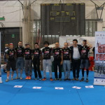 Ciclismo, circuito Coppa Piemonte 2015, Novara (Novara, ITA), podium